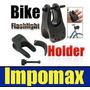 Impomax Sujetador Soporte De Linterna Bicicleta Moto Cuadron