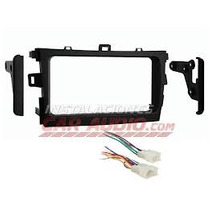 Adaptador Radio Toyota Corolla Doble Din 2009up