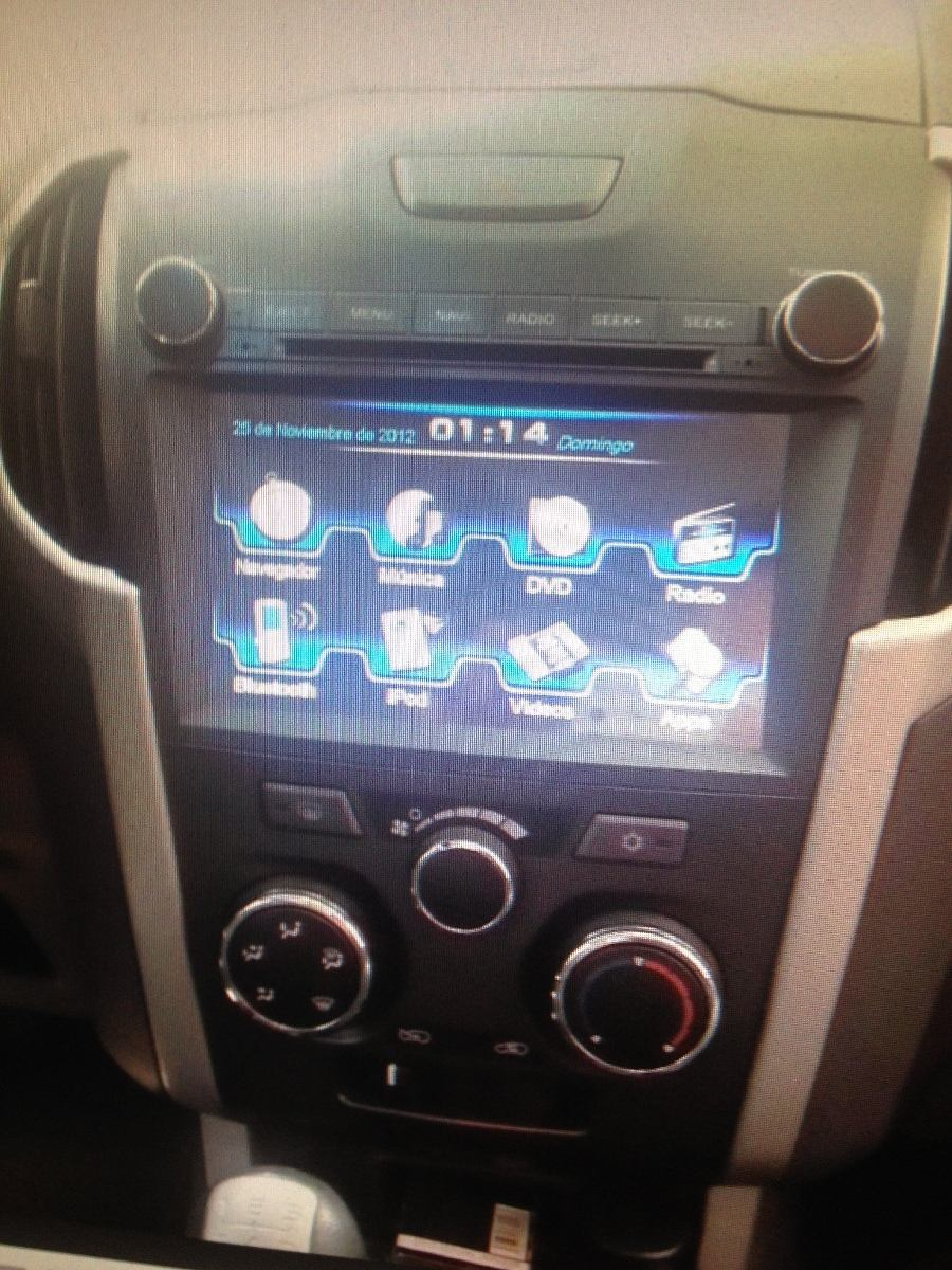 chevrolet d-max 2014 dvd, usb, gps, etc