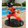 Goku Pose De Pelea Anime Dragon Ball Figura Coleccionable
