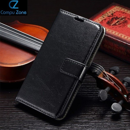 Estuche Case Flip Negro Para Samsung Galaxy S6 - Preventa
