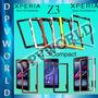 Bumper Plastico Sony Xperia Z3 / Z3 Compact Flexible D6603