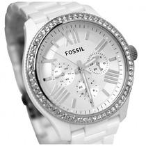 Reloj Fossil Mujer Blanco Am 4494 / Gafas Fossil Originales