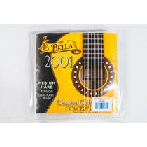 Cuerdas Guitarra Acustica La Bella 2001