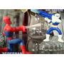 Juguete Figura De Accion Spiderman Vs Mr. Freeze