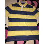 Camiseta Tommy Hilfiger Tipo Polo, Talla Large, Custom Fit.