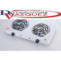 Cocineta Electrica Portatil De Dos Hornillas Potentes