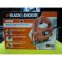 Sierra Caladora 400w Ks 405 Marca Black & Decker