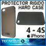 Protector Rígido Hard Case Iphone 4 - 4s + Mica