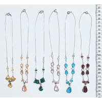 Precioso Collar Para Mujer Bisuteria De Cristal De Colores