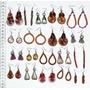 Aretes De Metal Hechos A Mano En Lesoto, Bisuteria Africana