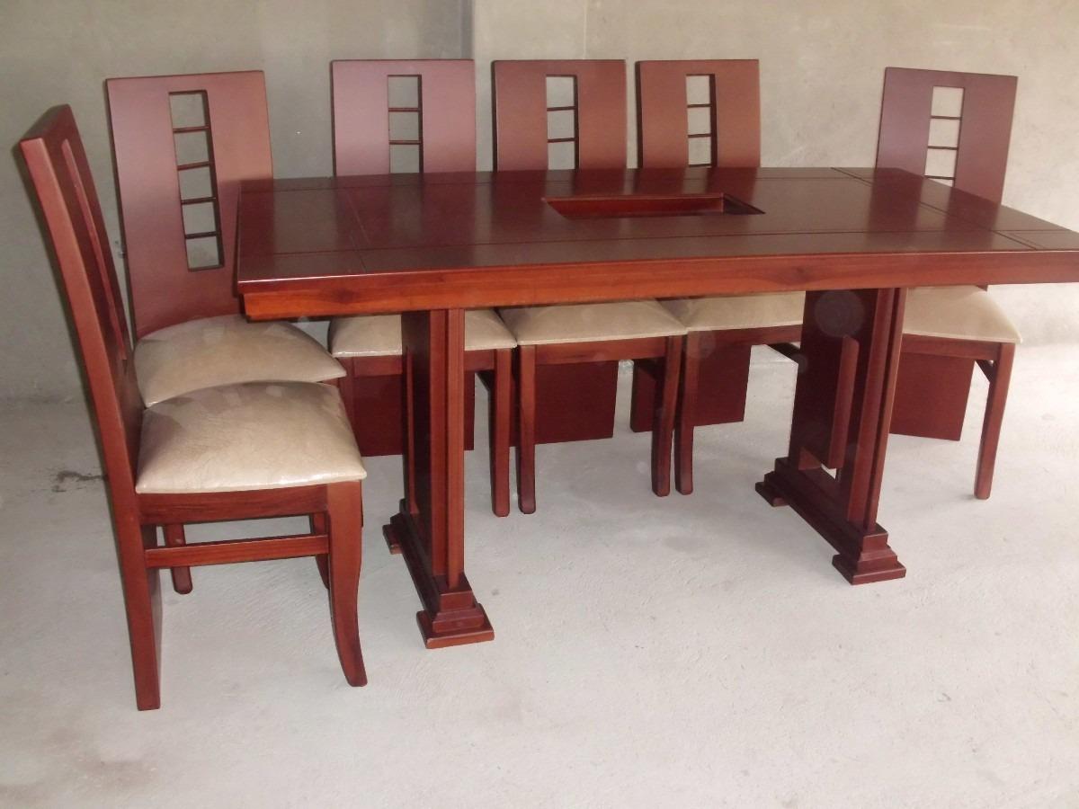 The gallery for juegos de comedor for Juego de comedor de 8 sillas moderno