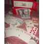 Naipes/ Cartas Plásticas Playing A-z (excelente K & $usd)