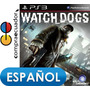Watch Dogs Ps3, Playstation 3, Juego Original Sellado, Ps3.