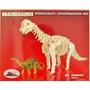 Esqueleto Juguete Dinosaurio Madera Braquiosaurus Armable