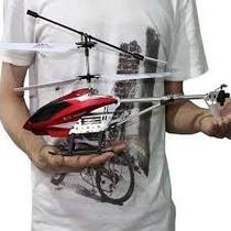 Helicoptero Recargable Grande De 43 Cm A Control Remoto