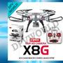Drone Dron Syma X8g Quadcoptero Camara Hd 5 Mp Axis 360 180m