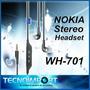 Manos Libres Nokia Original Wh-701 Stereo Control Mp3