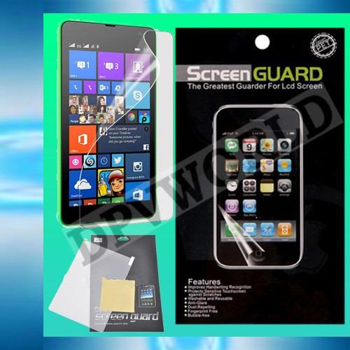 Mica Hd Microsoft Lumia 535 820 920 1520 + Paño De Limpieza