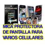 2x Mica Pantalla Celular Sony Vivaz Lcd Mp3 Usb Wifi Gb 4g