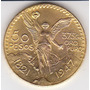 México, Réplica De La Moneda De Oro 5o Pesos 1.947