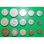 Mexico 15 Monedas Diferentes Usadas Set
