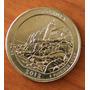 Acadia Maine 1/4 Dolar Usa Letra S Escasa Parques Nacionales