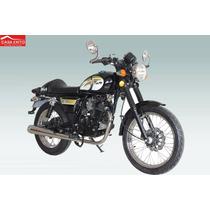 Moto / Qingqi / Qm200-2x Cofe Color Negro Año 2015