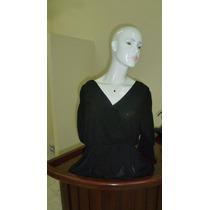Blusa Negra Elegante-importada