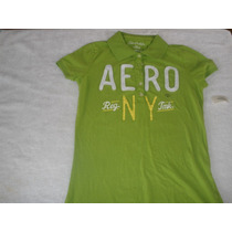 Camiseta Mujer Tipo Polo Marca Aeroposte Talla M