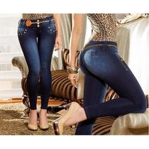 Se Vende Jeans Strech Levantacola Al Por Mayor Y Menor