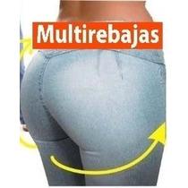 * Jeans Levantacola Super Strech Moda 2015, S M L Xl