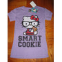 Camiseta Hello Kitty Medium 10/12 Lila