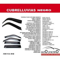 Cubrelluvias Negro Mate Marca Renault Duster