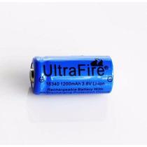 Pila Bateria Recargable Litio 3.7v 1200ma Ultrafire 16340