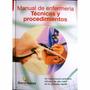 Libro Manual De Enfermeria Tecnicas Y Procedimientos + Cd