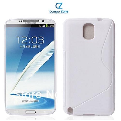 Protector Case De Poliuretano Goma Samsung Note 3 N9000