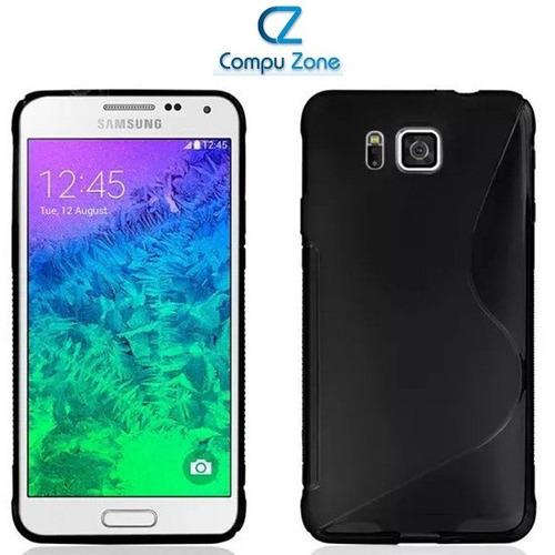 Protector Case Poliuretano Samsung Galaxy Alpha Diseño S