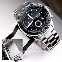 Reloj Fossil Ch2600 Cronógra-acero-nuevos En Caja Originales
