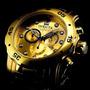 Reloj Invicta Pro Diver Chronograph 18k Gold-plated