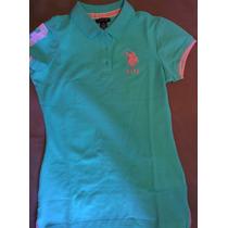 Camisetas Tipo Polo U.s. Polo Assn. Mujer