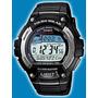 Reloj Casio Solar Ws 220 Sumergible 100m 120 Lapsos 5 Alarma