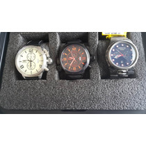 Coleccion Reloj Watch Invicta Originales Grandes Mas Maleta