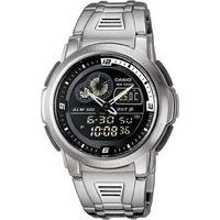 Reloj Casio Aqf-102 Wd Termometro Cronografo Luz Led En Caja