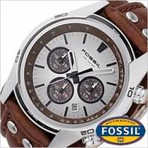 Reloj Fossil Ch2565 -cronografo Originales - Nuevos En Caja