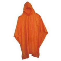 Poncho De Lluvia Camping Emergencia Impermeable Ypt