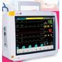 Monitor De Paciente. Ecg Spo2 Nibp Resp Temp. Multiparametro