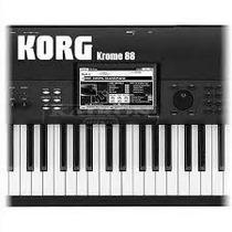 Sintetizador Korg Krome 61 Teclas Para Entregar De Inmediato