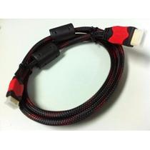 Cable Hdmi Blindado 1.4 Soporte 3d 4k (4096x2160) 1.5 Metros