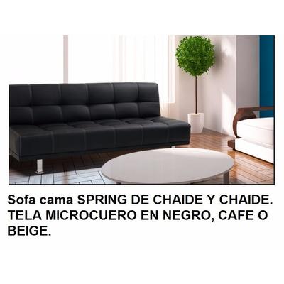Sofa cama chaide spring 1 1 2 plaza c envio gratis uio for Sofa cama 1 plaza mercadolibre